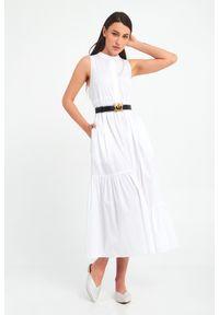 Sukienka TwinSet asymetryczna, midi