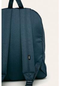 Niebieski plecak Vans z nadrukiem