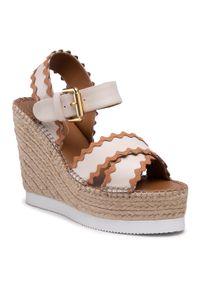 Białe sandały See By Chloé