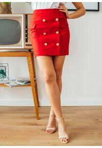 Czerwona spódnica Fanaberia.com