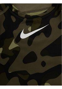 Zielona koszulka sportowa Nike