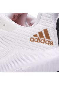 Białe buty do biegania Adidas z cholewką, Adidas Alphabounce
