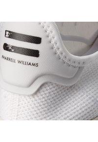 Białe buty sportowe Adidas na co dzień, z cholewką #7