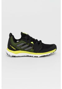 adidas Performance - Buty Terrex Agravic. Nosek buta: okrągły. Zapięcie: sznurówki. Kolor: czarny. Materiał: guma. Model: Adidas Terrex