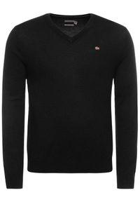 Czarny sweter klasyczny Napapijri