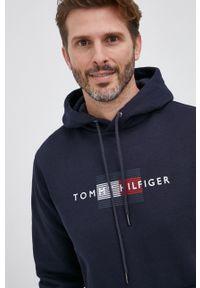TOMMY HILFIGER - Tommy Hilfiger - Bluza. Okazja: na co dzień. Kolor: niebieski. Styl: casual