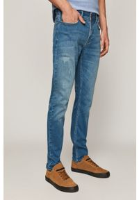 Niebieskie jeansy medicine na co dzień, casualowe