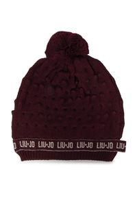 Czerwona czapka zimowa Liu Jo