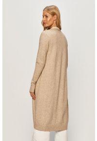 Sweter rozpinany Vila na co dzień, długi, z długim rękawem