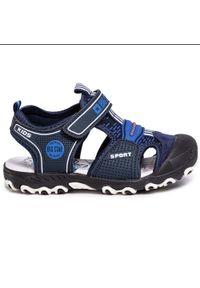 Niebieskie sandały Big-Star na lato, klasyczne