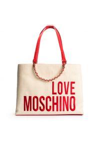 Walizka Love Moschino z aplikacjami