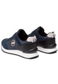 Colmar - Sneakersy COLMAR - Travis Drill 013 Navy. Okazja: na co dzień, na spacer. Kolor: niebieski. Materiał: zamsz, nubuk, skóra. Szerokość cholewki: normalna. Styl: casual, sportowy