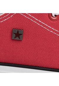 Czerwone półbuty Big-Star casualowe, na co dzień #7