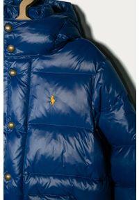 Niebieska kurtka Polo Ralph Lauren na co dzień, polo, casualowa