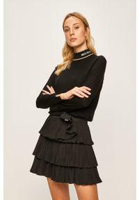 Czarny sweter Miss Sixty na co dzień, casualowy