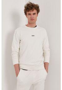 BOSS - Boss - Bluza Boss Casual. Okazja: na co dzień. Kolor: biały. Styl: casual