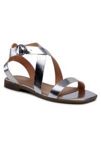 Srebrne sandały Edeo