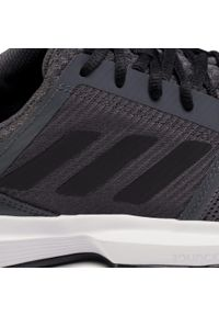 Szare buty do tenisa Adidas