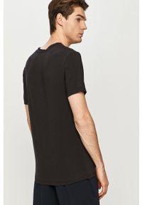 Czarny t-shirt Ted Baker na co dzień, casualowy
