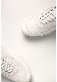 Białe buty sportowe vagabond z cholewką, do biegania