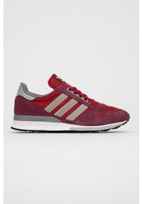 adidas Originals - Buty ZX 500. Nosek buta: okrągły. Zapięcie: sznurówki. Kolor: czerwony. Model: Adidas ZX