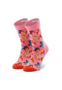 Różowe skarpetki Happy-Socks