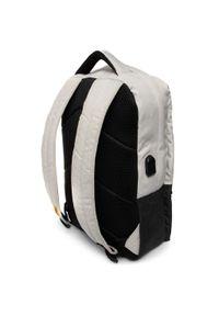 CATerpillar - Plecak CATERPILLAR - Universo 83730-296 Off White/Dark Grey. Kolor: szary. Materiał: materiał