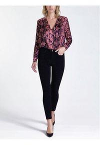 Guess Jeansy 1981 W94A46 D3TK1 Czarny Skinny Fit. Kolor: czarny. Materiał: elastan, bawełna, jeans