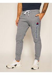 Szare spodnie dresowe Champion do biegania
