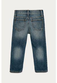 Niebieskie jeansy GAP z aplikacjami