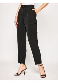 Czarne spodnie materiałowe Calvin Klein