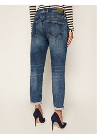 Pepe Jeans Jeansy ARCHIVE Violet PL201742 Granatowy Regular Fit. Kolor: niebieski. Materiał: elastan, bawełna