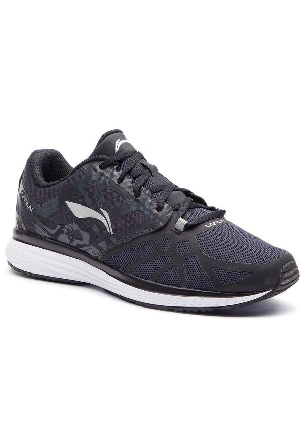 Czarne buty do biegania Li-Ning z cholewką