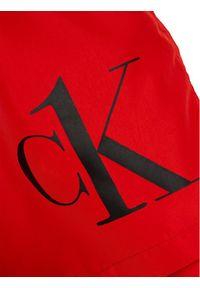 Czerwone kąpielówki Calvin Klein Swimwear