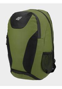 4f - Plecak miejski. Kolor: oliwkowy, brązowy, wielokolorowy. Materiał: materiał
