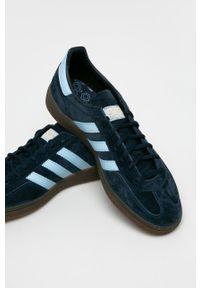 adidas Originals - Buty Handball Spezial. Zapięcie: sznurówki. Kolor: niebieski. Sport: piłka ręczna
