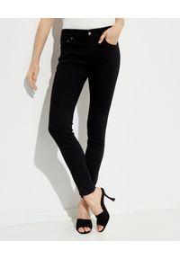 Ralph Lauren - RALPH LAUREN - Spodnie Superskinny. Kolor: czarny. Styl: elegancki, klasyczny