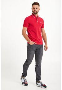 Koszulka polo Armani Exchange polo, sportowa, z nadrukiem
