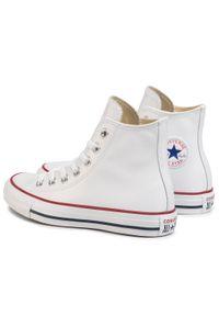Białe buty sportowe Converse z cholewką