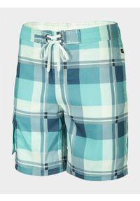Niebieskie szorty outhorn na plażę
