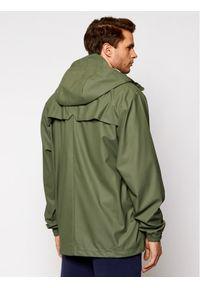 Zielona kurtka przeciwdeszczowa Rains
