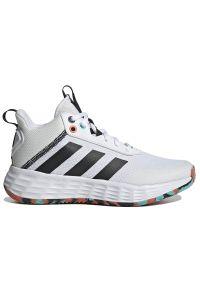 Adidas - adidas Ownthegame 2.0 > H01556. Zapięcie: sznurówki. Szerokość cholewki: normalna. Sport: koszykówka, turystyka piesza