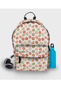 MegaKoszulki - Plecak fullprint Kolorowe pączki. Materiał: materiał. Wzór: kolorowy