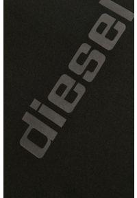 Czarny t-shirt Diesel na co dzień, casualowy