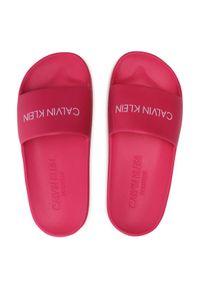 Różowe klapki Calvin Klein Swimwear