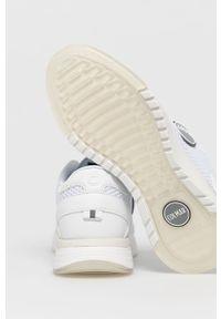 Colmar - Buty. Nosek buta: okrągły. Kolor: biały. Materiał: syntetyk, materiał. Szerokość cholewki: normalna. Obcas: na obcasie. Wysokość obcasa: średni #3