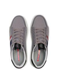 U.S. Polo Assn - Sneakersy U.S. POLO ASSN. - Vega141 VEGA4141S1/LT1 Grey. Okazja: na co dzień. Kolor: szary. Materiał: skóra ekologiczna, materiał. Szerokość cholewki: normalna. Styl: casual, sportowy #4
