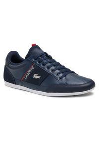 Lacoste Sneakersy Chaymon 0721 2 Cma 7-41CMA0048092 Granatowy. Kolor: niebieski