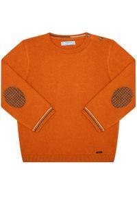 Pomarańczowy sweter Mayoral