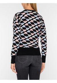 Sweter klasyczny Emporio Armani w kolorowe wzory